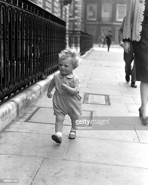 World War II, 5th June 1942, 20 month old Winston Churchill son of captain and Mrs Randolph Churchill and grandson of the prime Minister Winston...