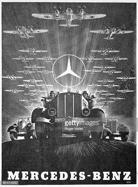 World War II Advertisement for MercedesBenz lorries