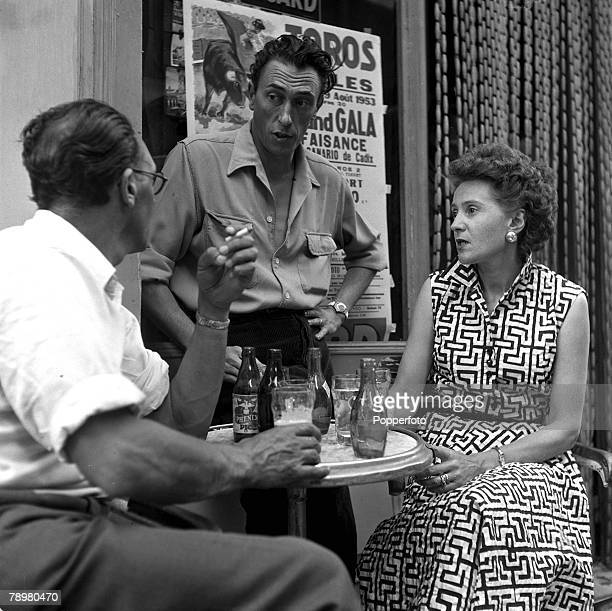 1953 World War II agents Captain Peter Churchill and his wife Odette along with Jaques Latour would spend anxious days at this cafe in Arles waiting...