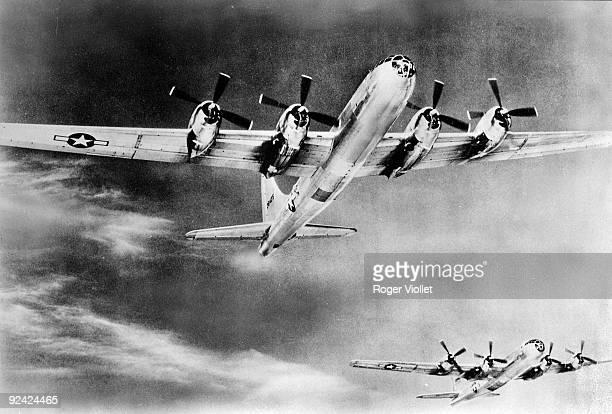 World War II. American Air Force. The B29 Superfortress.