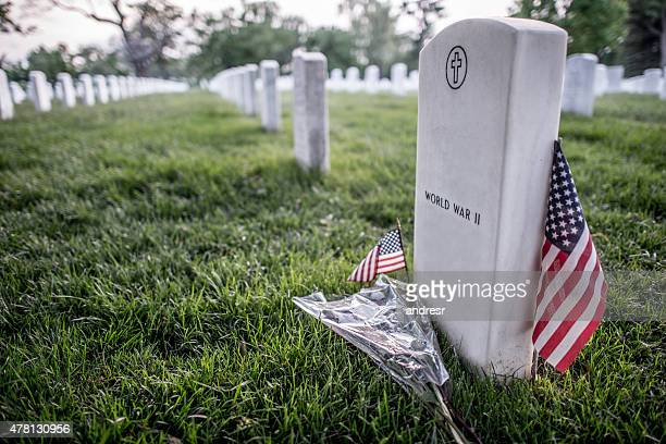 world war ii american military cemetery - place of burial stock pictures, royalty-free photos & images