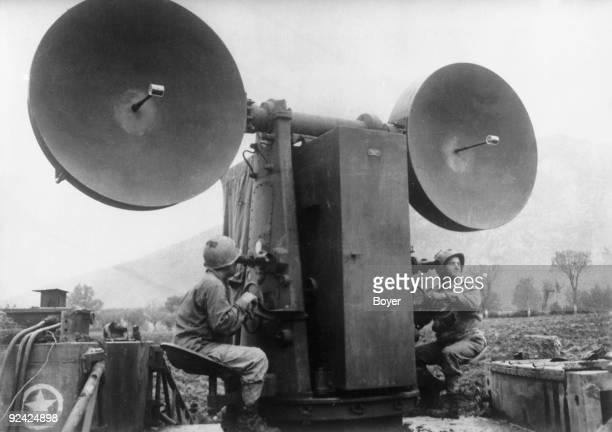 World War II American radar system used to direct antiaircraft guns Mignano