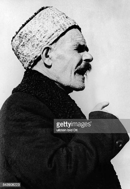 World War II Caucasus region: imam of the Karachay people - 1942- Photographer: Presse-Illustrationen Heinrich Hoffmann- Published by: 'Berliner...
