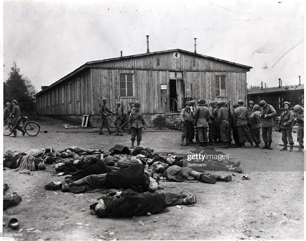 Scene At Ohrduf Concentratoin Camp : News Photo