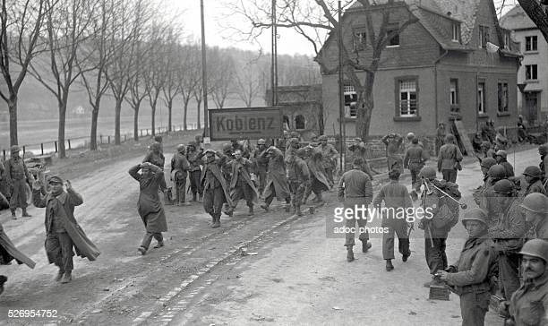 World War II During the advance of the Third United States Army in Germany In 1945
