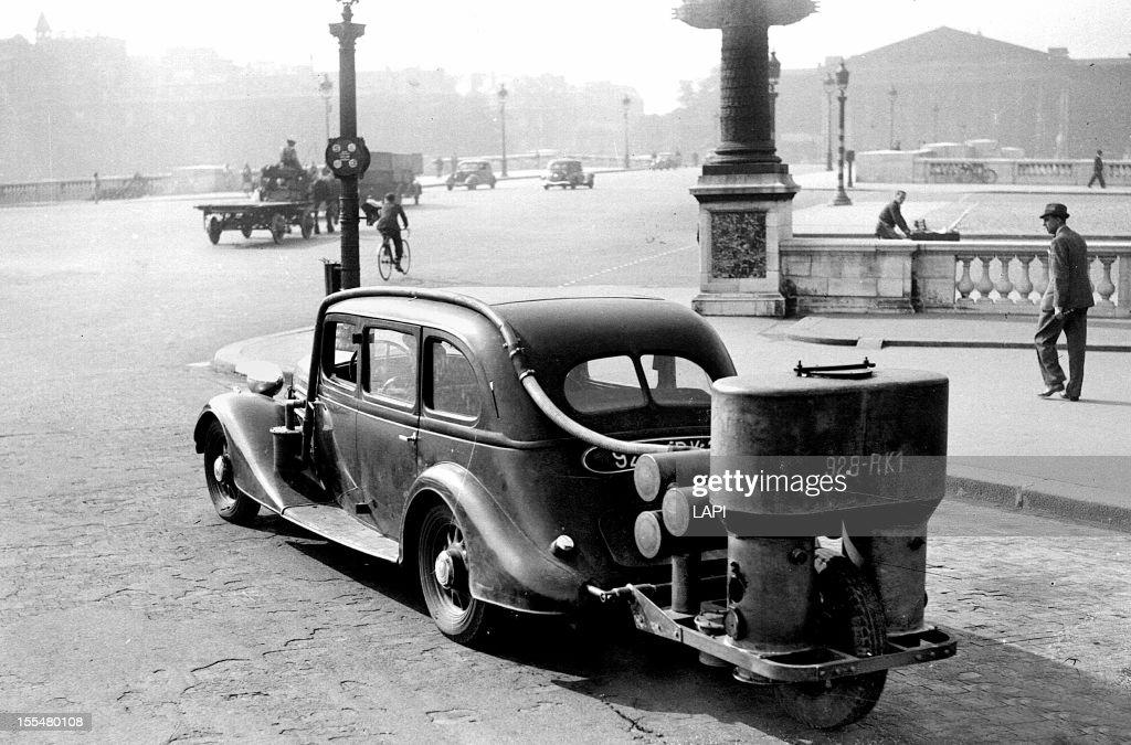 World War II First car : News Photo