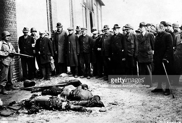 World War II German civilians are forced to witness atrocities by Nazi troops at a German concentration camp now under control of the Americans who...
