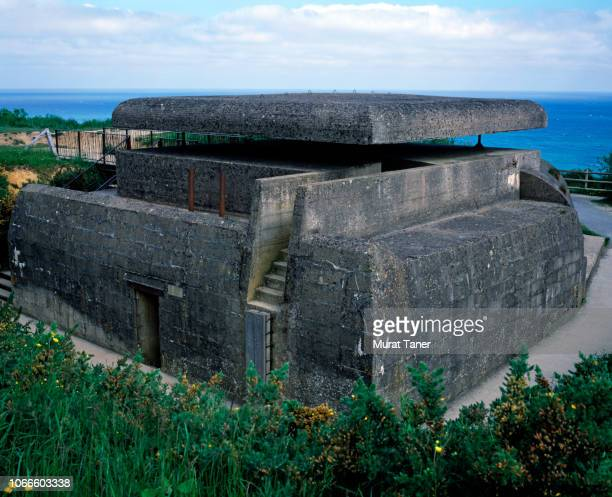 world war ii german command bunker at normandy - german military stock pictures, royalty-free photos & images