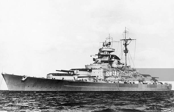 World War II German Kriegsmarine Battleship TIRPITZ c19411943