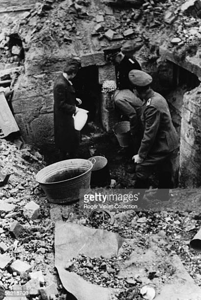 World War II Hamburg after the bombardments of July 1943