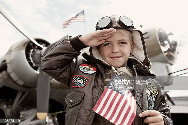 world war ii honor - saluting stock pictures, royalty-free photos & images