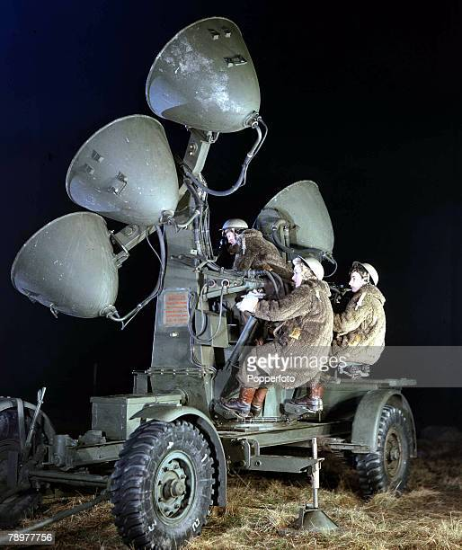 World War II, January 1943, Searchlights manned entirely by ATS