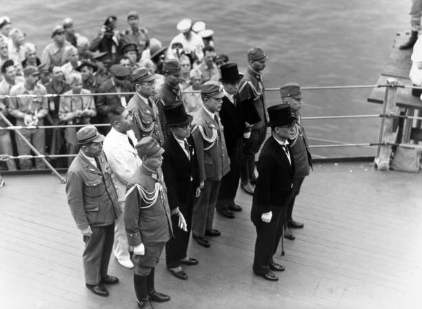 JPN: 2 September 1945 - WWII Officially Ended As Japanese Sign Surrender