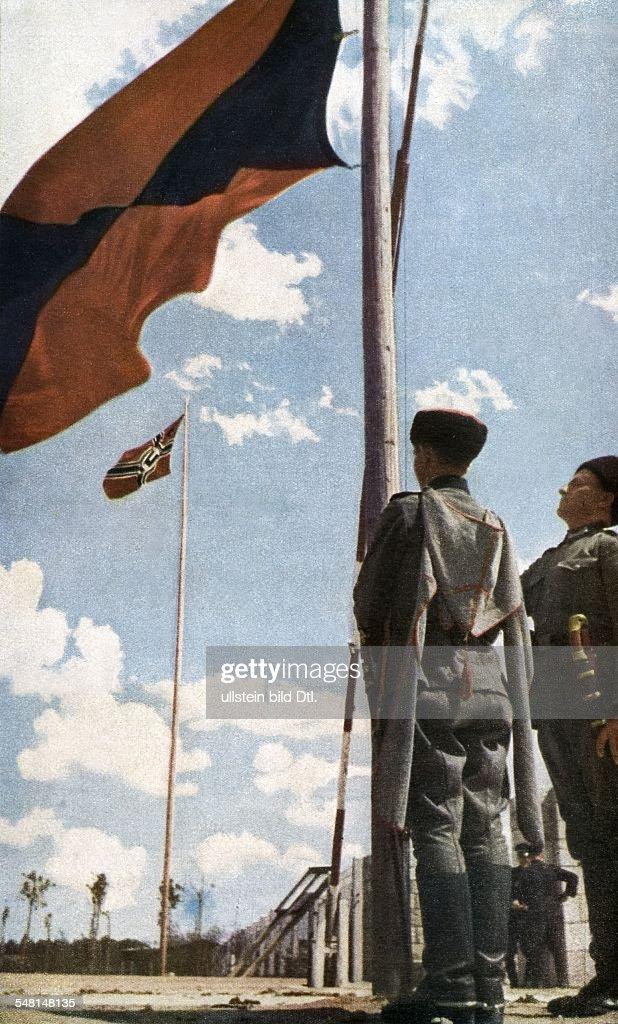 World War II Kuban Cossacks fighting as German auxiliary