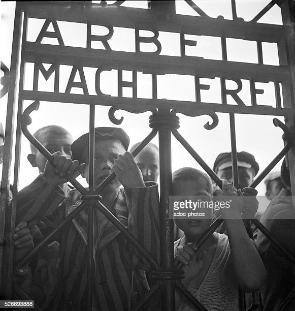 World War II Liberation of Dachau concentration camp In May 1945