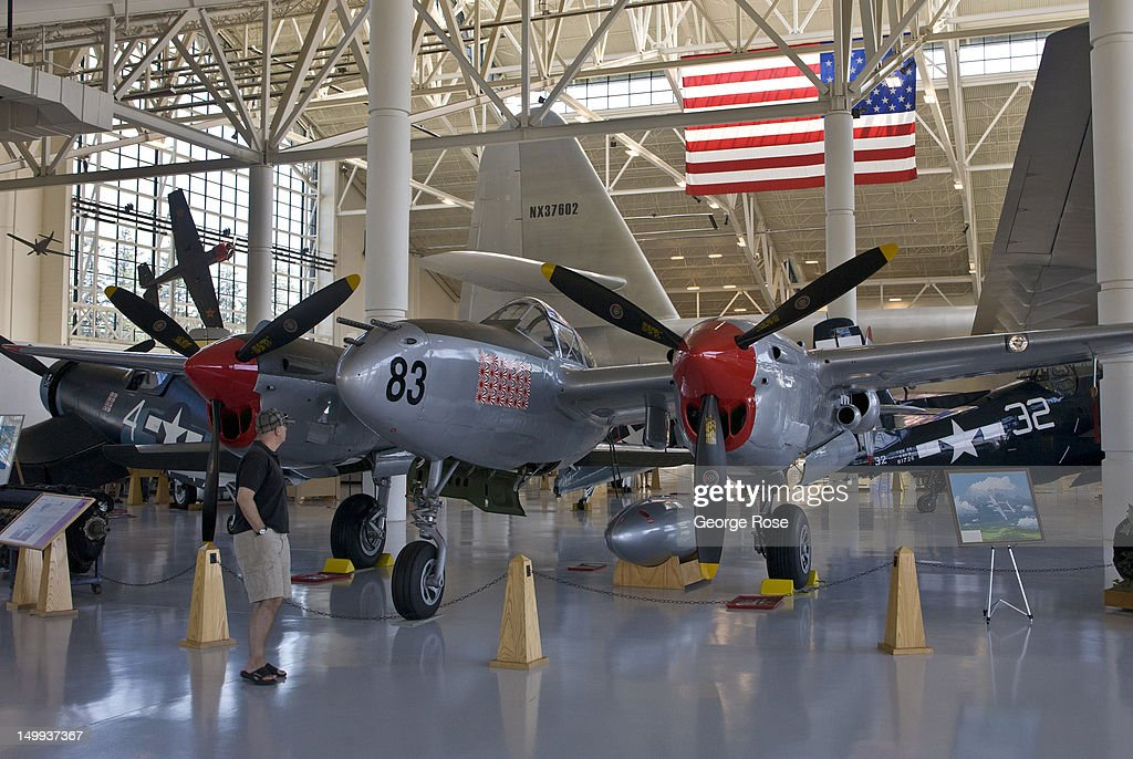A World War II Lockheed P38 Lighting fighter plane is on display at the Evergreen Aviation & P 38 Lighting Stock Photos and Pictures | Getty Images azcodes.com