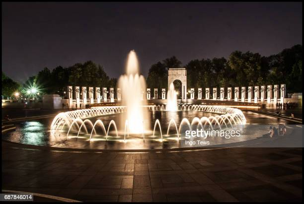 world war ii memorial - national world war ii memorial stock pictures, royalty-free photos & images
