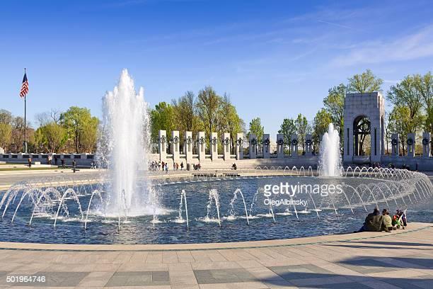 world war ii memorial, washington dc, usa - national world war ii memorial stock pictures, royalty-free photos & images