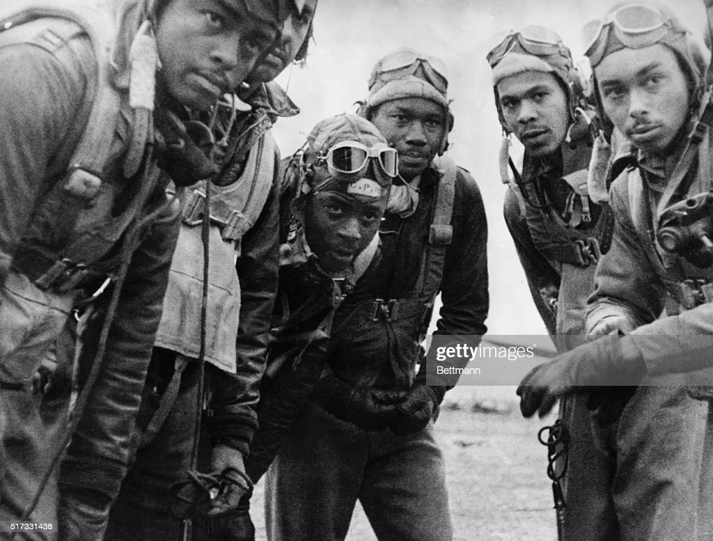 Tuskegee Airmen in Italy : News Photo
