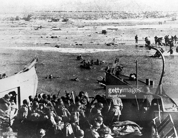 World War II Normandy landings American troops landing on Utah Beach June 6 1944