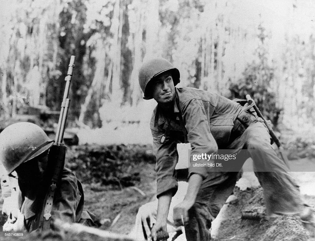 WWII: Pacific: battle of Guadalcanal : News Photo