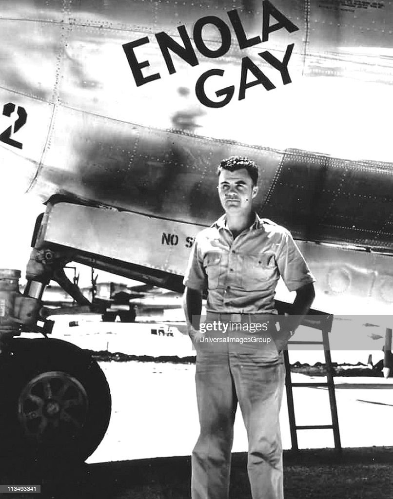 The piolit of the enola gay