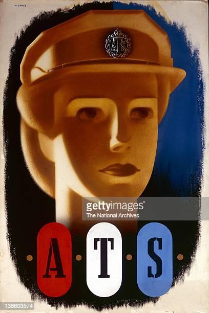 World War II poster - Forces Recruitment - ATS