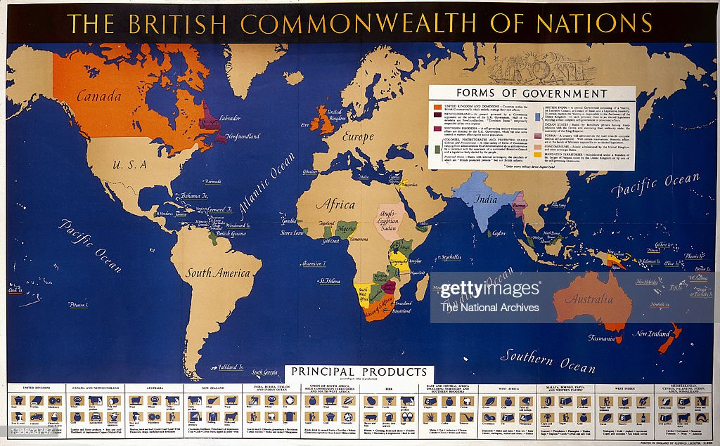 The british commonwealth of nations pictures getty images world war ii poster the british commonwealth of nations gumiabroncs Gallery