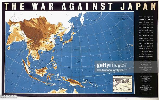World War II poster The War Against Japan