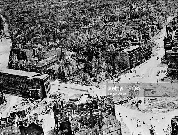 World War II Ruins of Berlin 1945