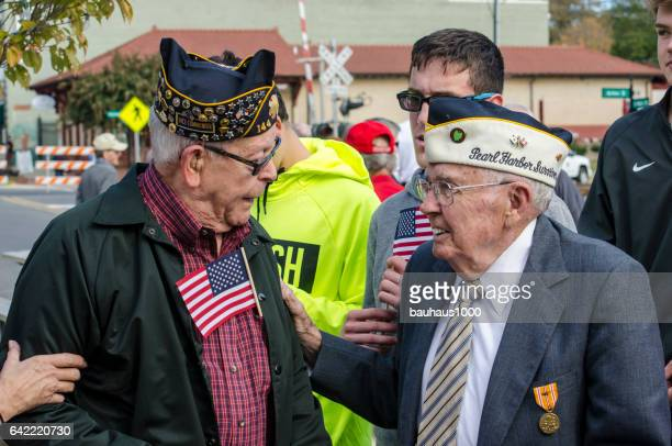 world war ii veteran and pearl harbor survivor - air force memorial stock pictures, royalty-free photos & images