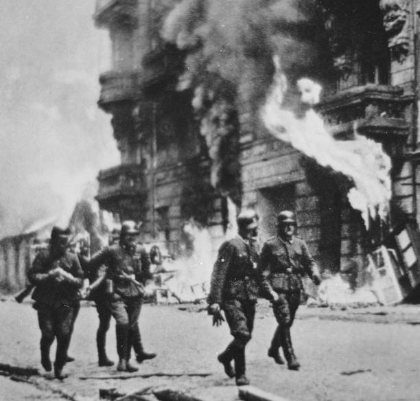 70 Years Since The Warsaw Ghetto Uprising Photos and ...
