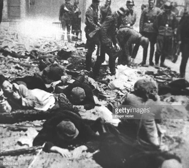 World War II Warsaw Ghetto Uprising AprilMay 1943