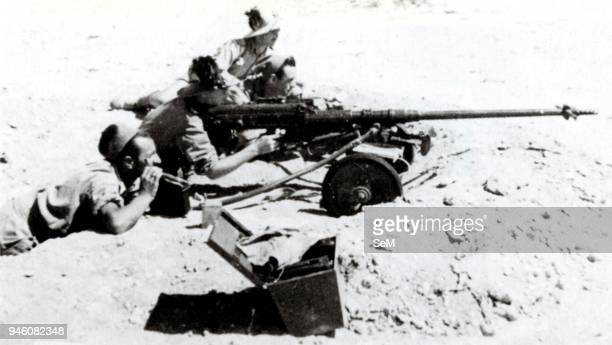 World War IIWar in North Africa1940 1943FascismItalian Bersaglieri opened fire with a rifle Solothurn antitank 20 mm This weapon was only effective...