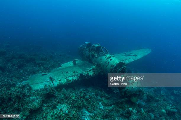 ii world war japanese seaplane - indo pacific ocean stock pictures, royalty-free photos & images