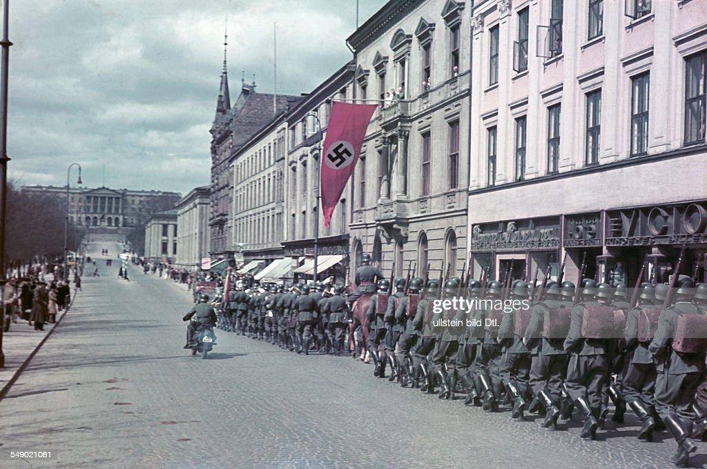 2. WW, Norway, german occupation : News Photo