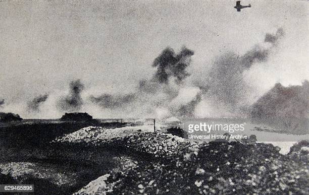 The Battle of Cambrai Aerial bombardment during the British offensive