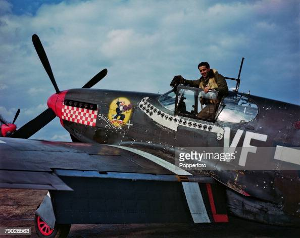 World War Two 10th April 1944 Leading Ace Of The Eighth