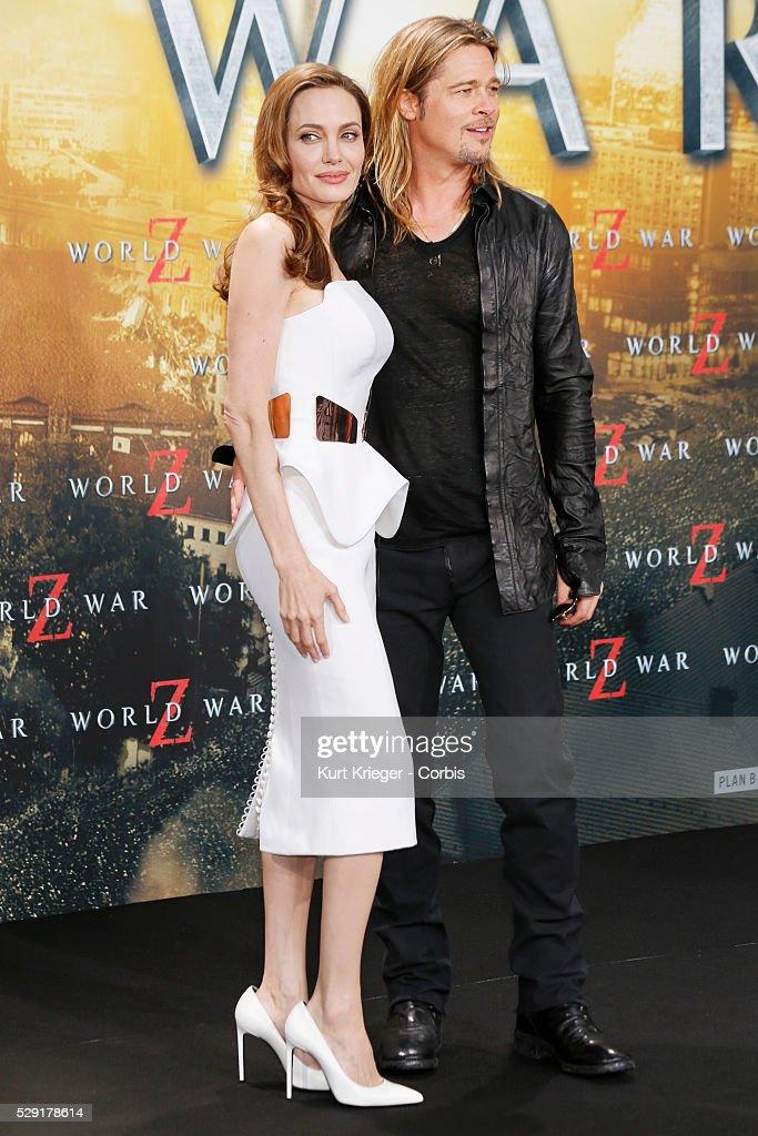 """Germany - """"World War Z"""" Premiere in Berlin : News Photo"""