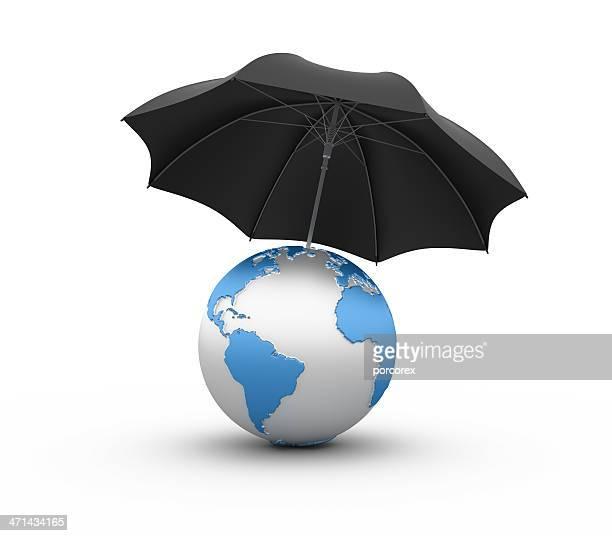 World with Umbrella