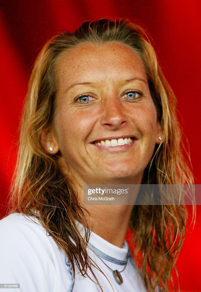 Layne Beachley Competes In The Energy Australia Open