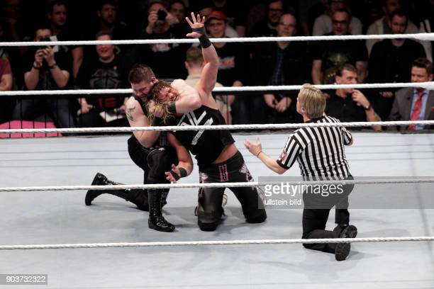 World Wrestling Entertainment Live in Germany Road to WrestleMania Kevin Owen gegen Dolph Ziggler LanxessArena Köln