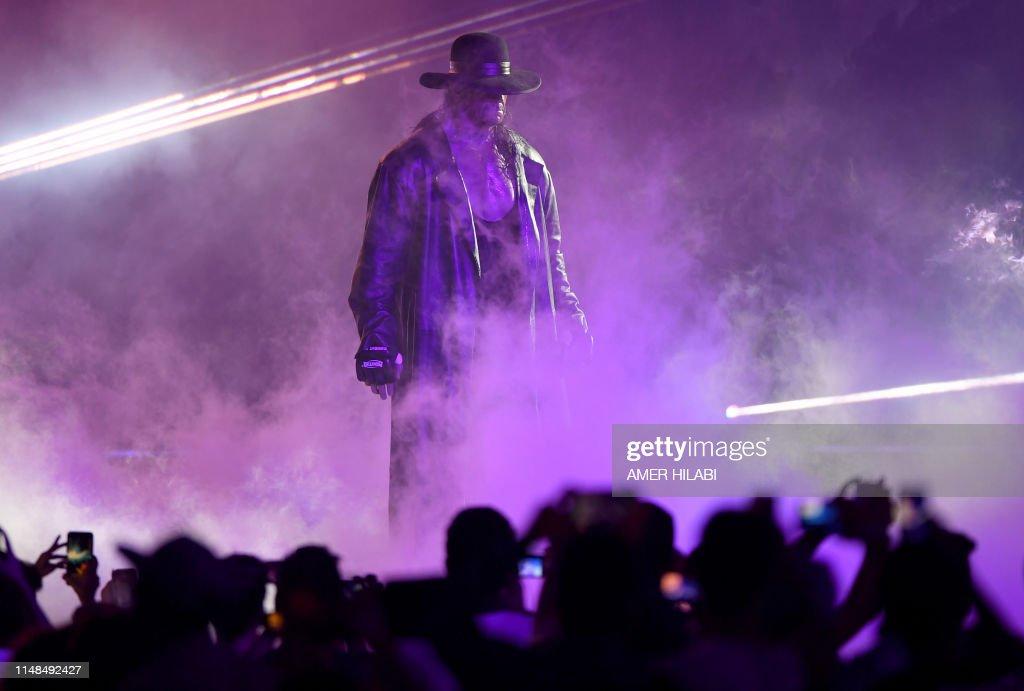 TOPSHOT-SAUDI-WRESTLING-ENTERTAINMENT-WWE : News Photo