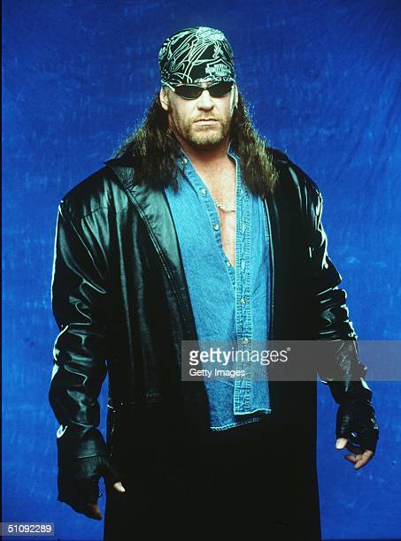 World Wrestling Federation's Wrestler Undertaker Poses June 12 2000 In Los Angeles Ca