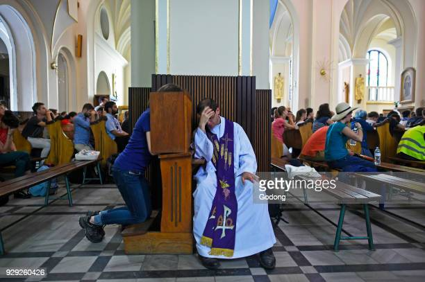 World Youth Day Krakow 2016 Holy confession Poland