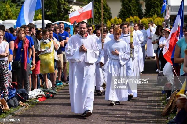 World Youth Day Krakow 2016 Procession Poland