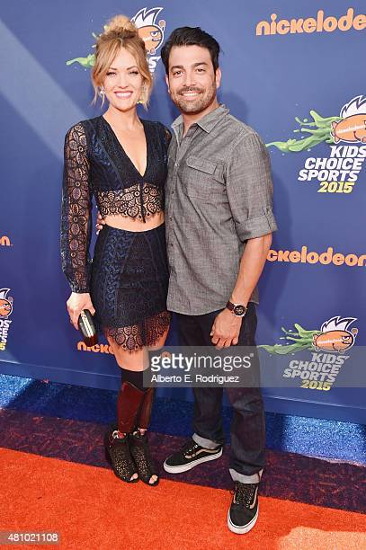 Worldclass snowboarder Amy Purdy attends the Nickelodeon Kids' Choice Sports Awards 2015 at UCLA's Pauley Pavilion on July 16 2015 in Westwood...