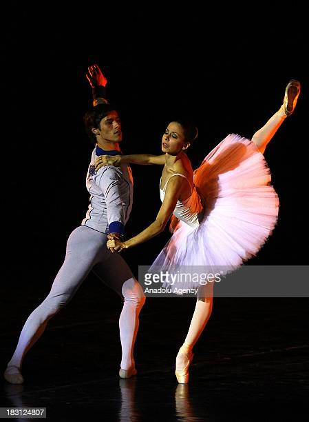 Worldfamous Russian Ekaterinburg Theater of Opera and Ballet perform acts from eight different ballet shows under the name of ''Stars of Ballet'' in...