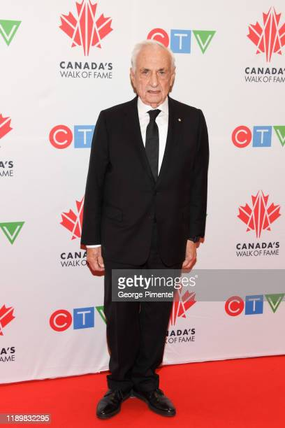 World-renowned architect Frank Gehry attends the 2019 Canada's Walk Of Fame at Metro Toronto Convention Centre on November 23, 2019 in Toronto,...