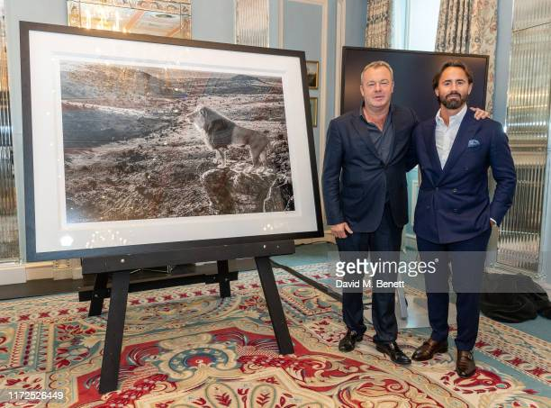IMAGES CANNOT BE USED UNTIL 1201 am ON TUESDAY 1st OCTOBER 2019 LONDON ENGLAND SEPTEMBER 30 Worldrenowned fineart photographer David Yarrow alongside...